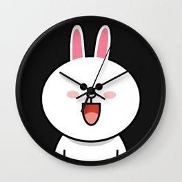 LINE Cony Rabbit Bunny Wall Clock