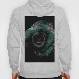 Dark Rose - Abstract Floral Photography by Fluid Nature Hoody