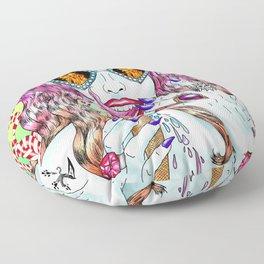 Untamed Shrew Floor Pillow