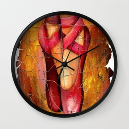 Dance Is The Hidden Language Of The Soul #society6 #decor #buyart by Lena Owens @OLena Art Wall Clock