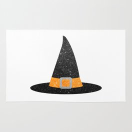 Glitter Witch Hat Rug