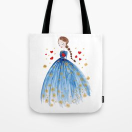 Valentino Heart Tote Bag