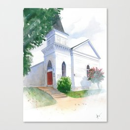 St. Philip's, Southport Canvas Print