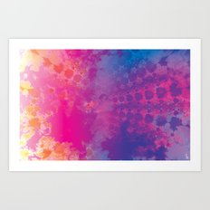 Color Texture III Art Print