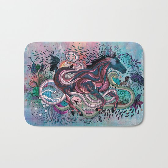 Poetry in Motion Bath Mat