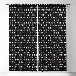 Moon Phases Blackout Curtain