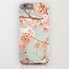 blossoms all over iPhone Case