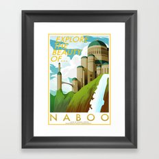 Explore the Beauty of Naboo Framed Art Print