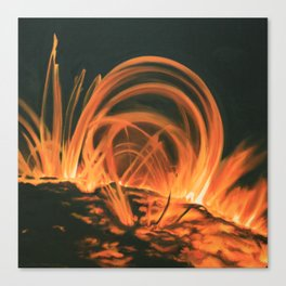 Coronal Mass Ejection Canvas Print