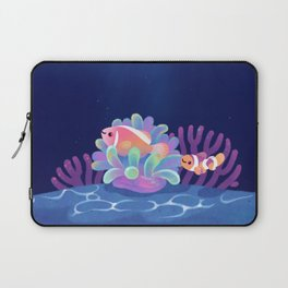 Pink skunk clownfish Laptop Sleeve