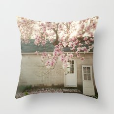 Magnolia Tree  Throw Pillow