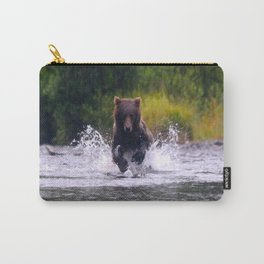 ALASKA V: Fishing in the Rain Carry-All Pouch