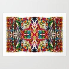 Burora Aorealis Redeux #3 Art Print