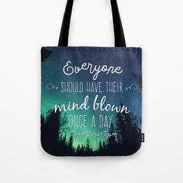 Inspirational Poster - Neil deGrasse Tyson Quote Tote Bag
