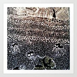 Black Book Series - Compact 01 Art Print
