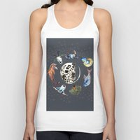 cosmic Tank Tops featuring Cosmic by AnnaW