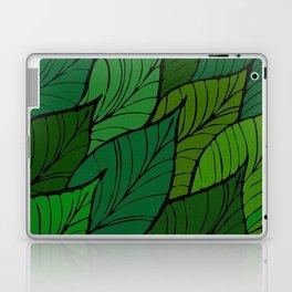 Lush / Leaf Pattern Laptop & iPad Skin