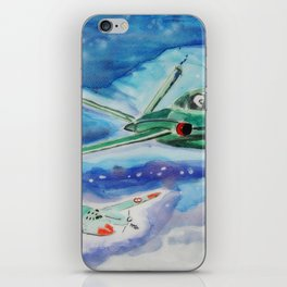 Three group flights iPhone Skin