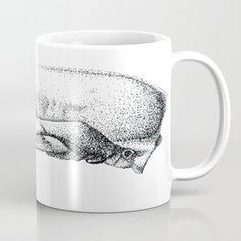 Raccoon Skull Study Coffee Mug