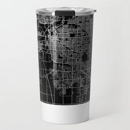 Lincoln map Nebraska Travel Mug