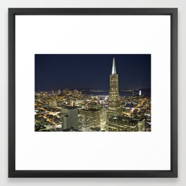 Gotham City, San Francisco Framed Art Print