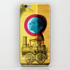 A childhood journey between reality and imagination... iPhone & iPod Skin