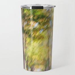 Blurry Trail Travel Mug