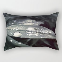 Dots on a leaf Rectangular Pillow