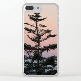 Mile High Sunrise Clear iPhone Case