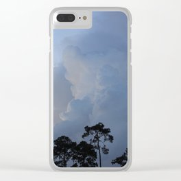 Smokey Clouds Clear iPhone Case