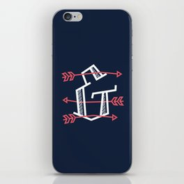 Ampersand with Arrows iPhone Skin