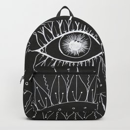 White Eye by Tina Lynn Ellis Backpack