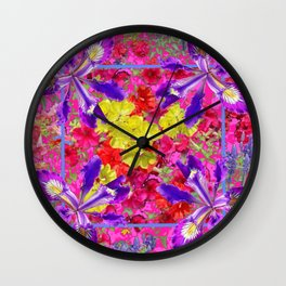 Awesome Spring Floral Garden Nature Art Wall Clock