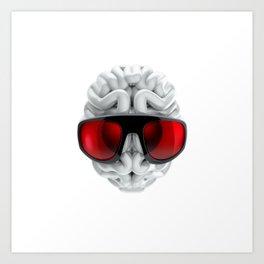Keep a Cool Mind Art Print