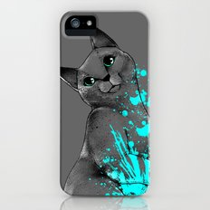 Russian Blue iPhone (5, 5s) Slim Case