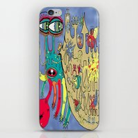 downton abbey iPhone & iPod Skins featuring Downton Crabbey by Amy Gale
