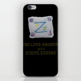 zissou flag from lifeaquatic with steve zissou iPhone Skin