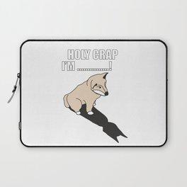 Mr Husky: Holy Crap Laptop Sleeve