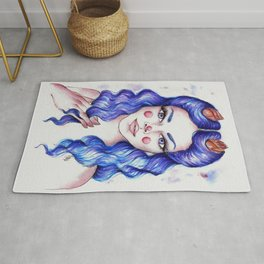 Winter Buds Rug
