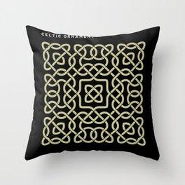Celtic ornament Throw Pillow