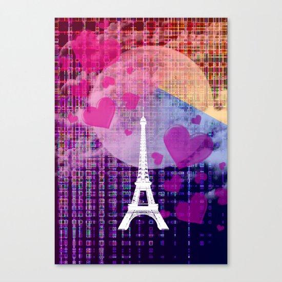 Paris Colours Canvas Print