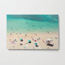 Waikiki Beach - Honolulu, Hawaii Metal Print