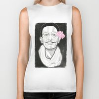 dali Biker Tanks featuring Dali by DonCarlos