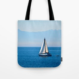 Cool Blue Tote Bag