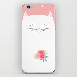 cat bride iPhone Skin