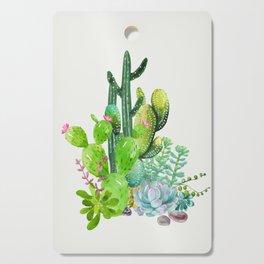Cactus Garden II Cutting Board
