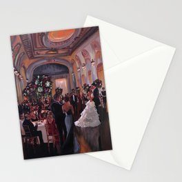 Ally & Jeff at The Bourne Mansion Stationery Cards