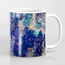 Colorful New York City Skyline Coffee Mug