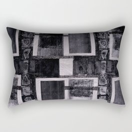 Charcoal Rectangular Pillow