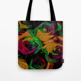 Funky Roses IV Tote Bag